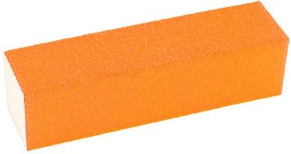 Lixa Cubo Laranja Neon Para Acabamento Em Unhas - 01 Unidade