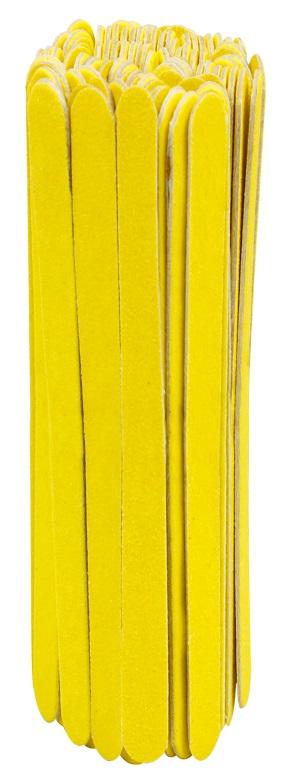 Lixa Para Unha Popular Amarelo Can�rio Com 100 Unidades - Santa Clara