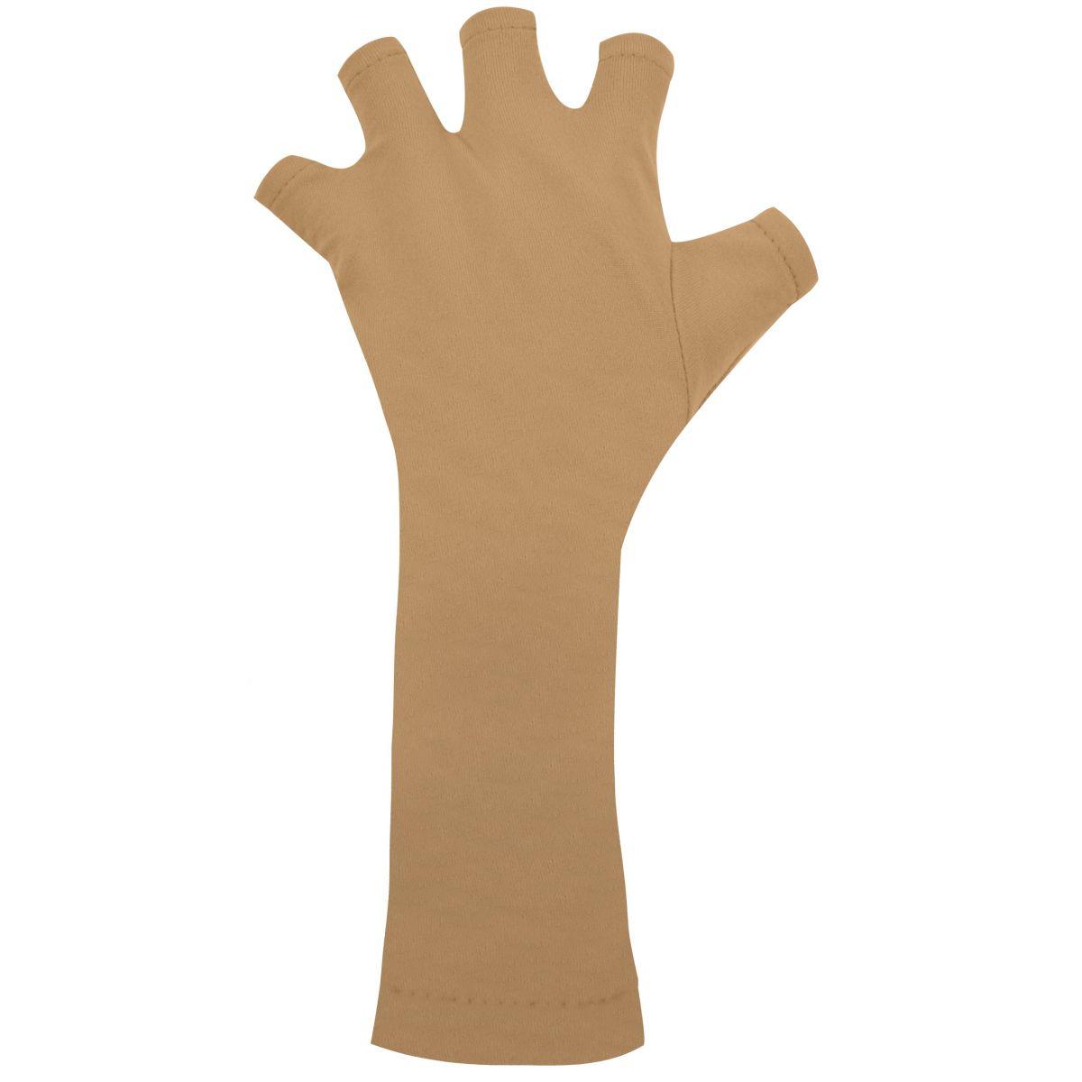 Luva Bege Protetora Das Mãos Para Cabine UV - Santa Clara