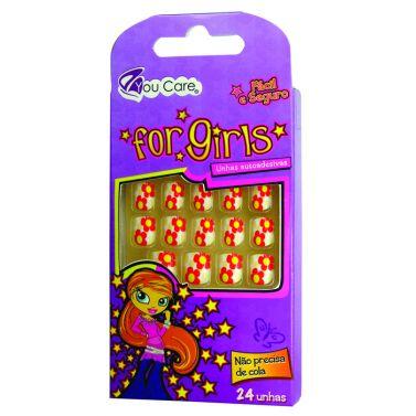 Mini Unhas Postiças Infantil  Decoradas  Child Joy BG-DA003 - You Care
