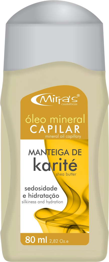�leo Mineral Capilar Manteiga De Karit� 80ml - Mirra�s