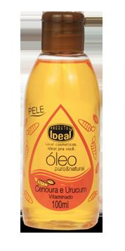 Óleo Puro & Natural Cenoura e Urucum 100 ml - Ideal