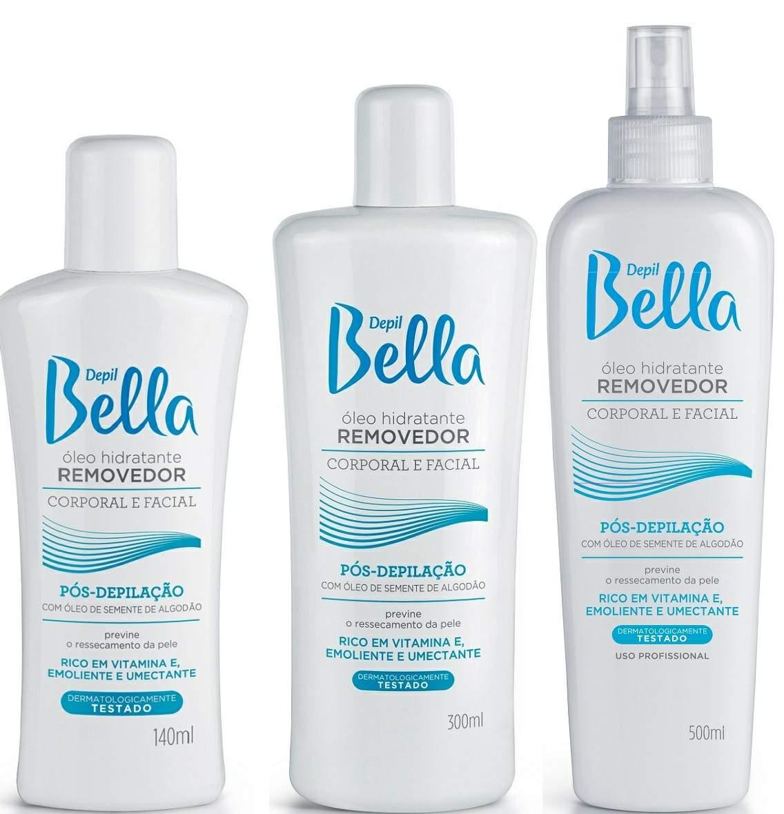 Óleo Removedor Hidratante Pós - Depilação Depil Bella