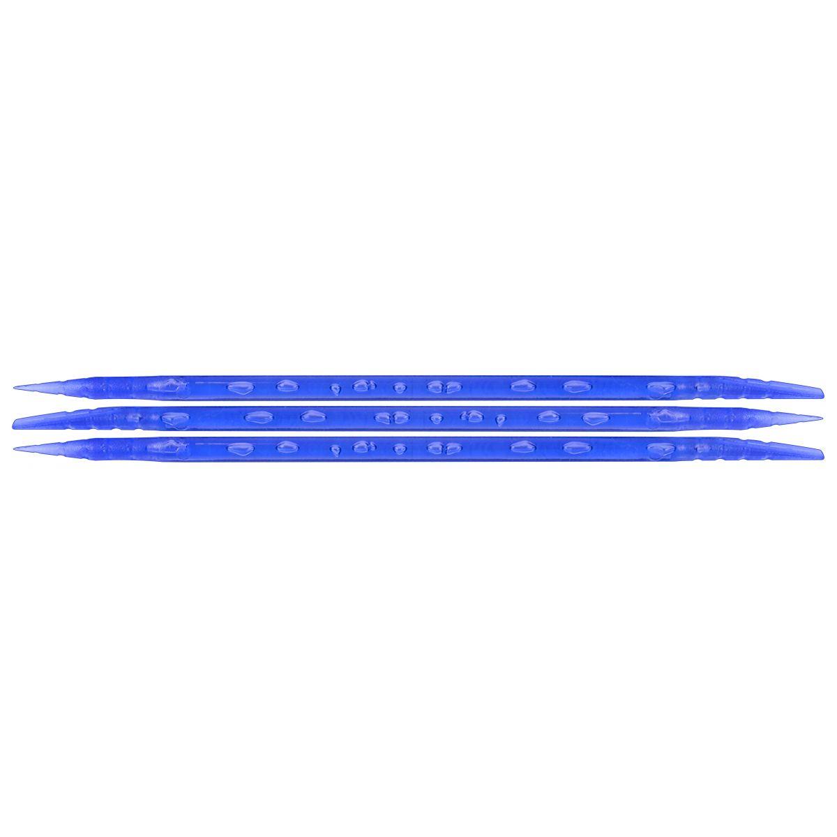 Palito Pl�stico Azul Para Manicure Descart�vel 100 Unidades