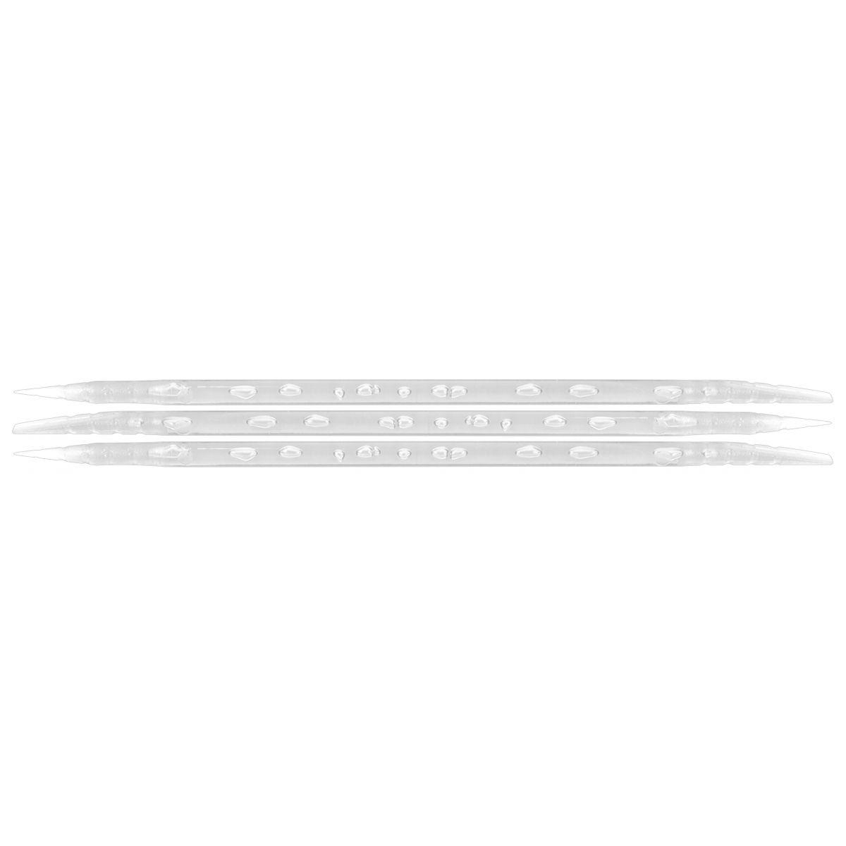 Palito Pl�stico Transparente Para Manicure Descart�vel 100 Unidades