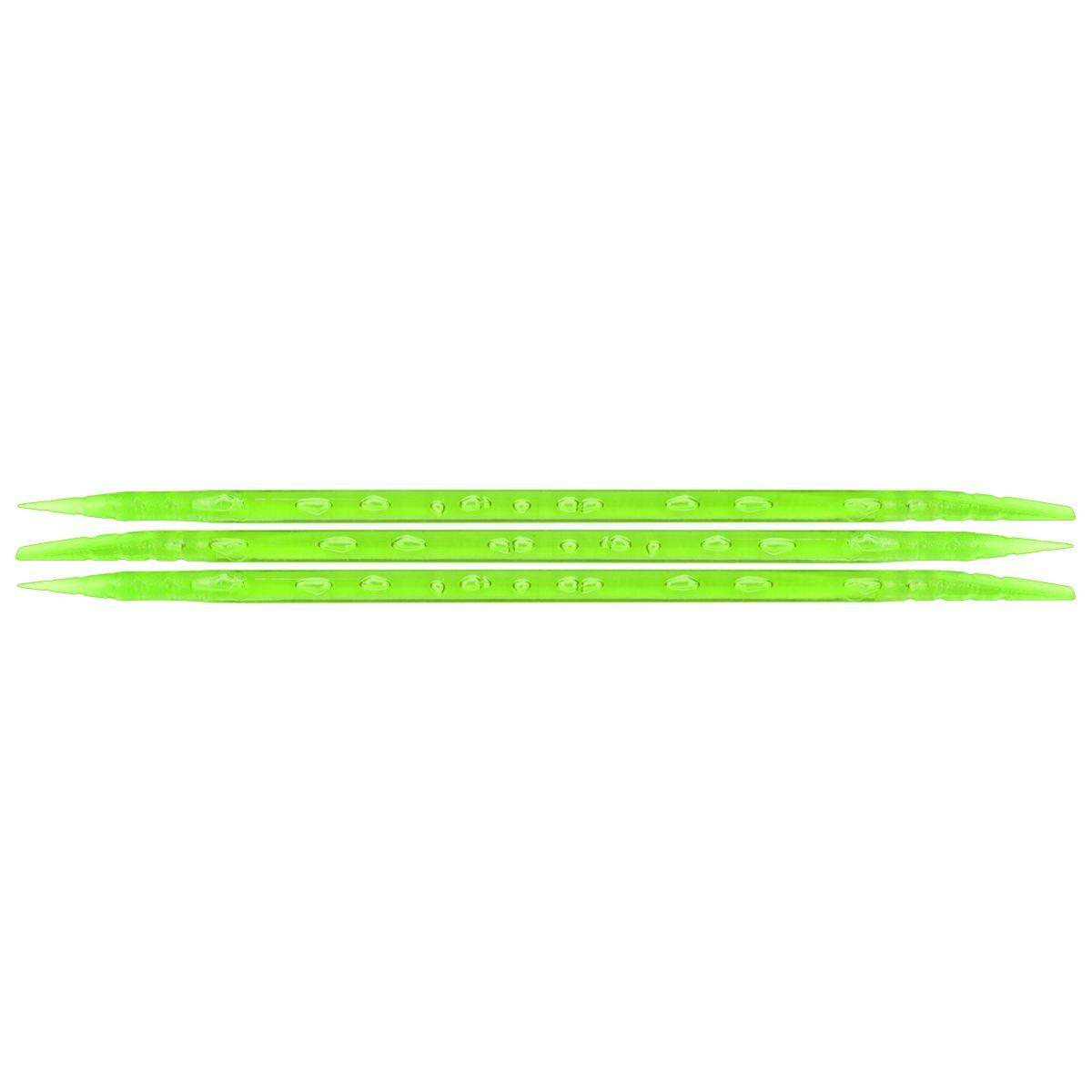 Palito Pl�stico Verde Para Manicure Descart�vel 100 Unidades