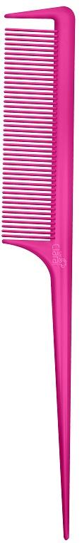 Pente Color Wind Pink Com Dente Separador De Mecha 180°