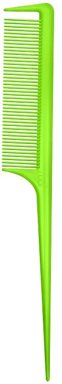 Pente Color Wind Verde Limão Com Dente Separador De Mecha 180°