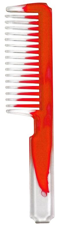 Pente Esplêndido Bicolor Vermelho - Santa Clara