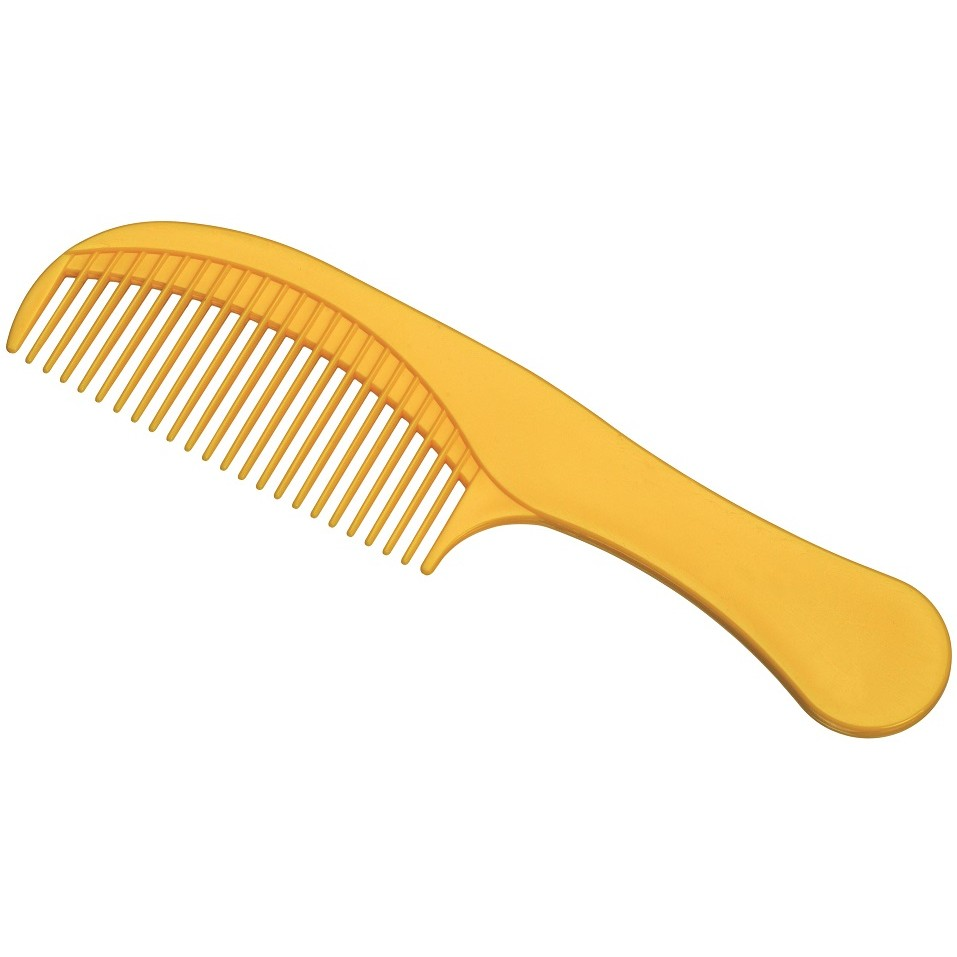 Pente Plástico Classic Dentes Estreitos - 01 Ou 12 Unidades