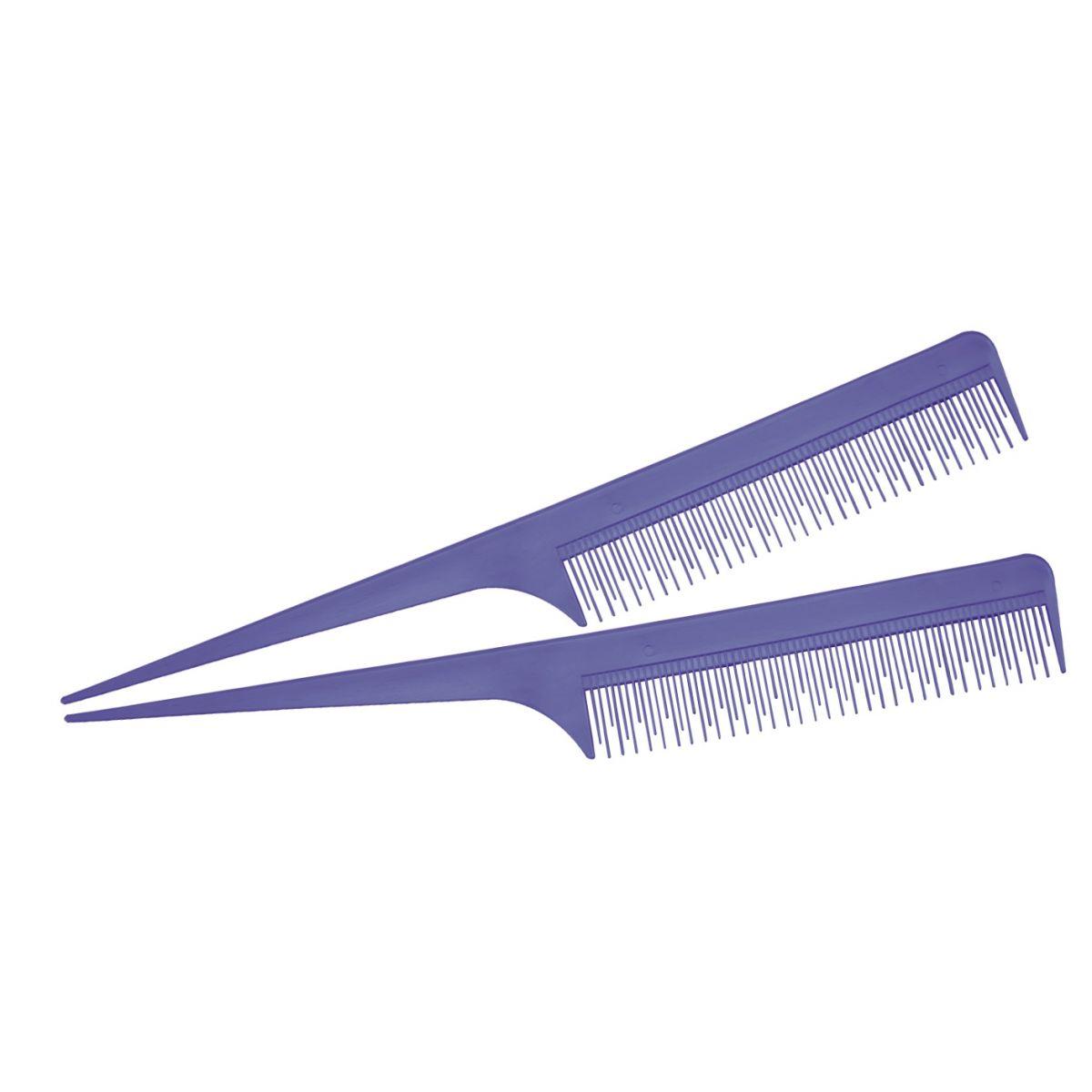 Pente Plástico Lilás Para Desfiar Cabelo Em Nylon -  suporta 180°