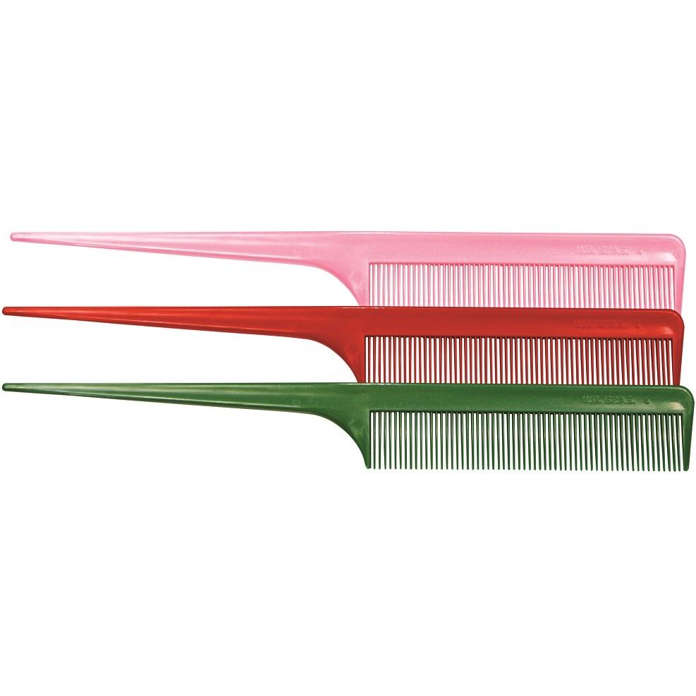 Pente Plástico Para Tintura Pequeno Fino - 01 Ou 12 Unidades