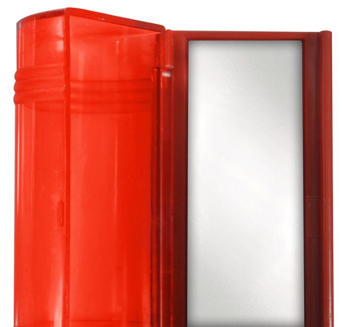 Porta Batom para Bolsa com Espelho