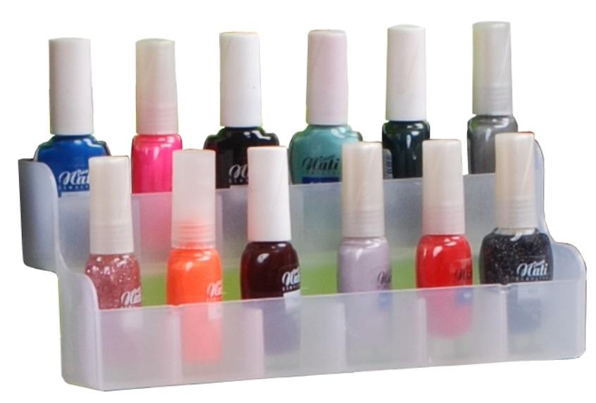 Porta Esmalte Para Carrinho Auxiliar De Manicure e Cabeleireiro
