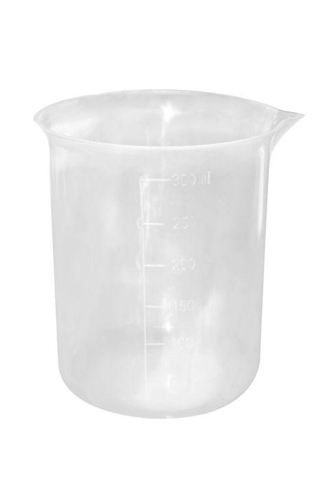 Pote Plástico Graduado Capacidade 300ml