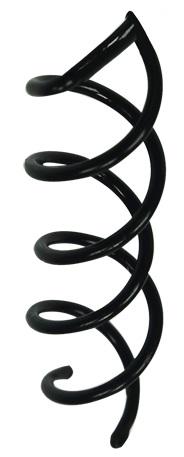 Prendedor Espiral Simples Para Cabelos - Santa Clara