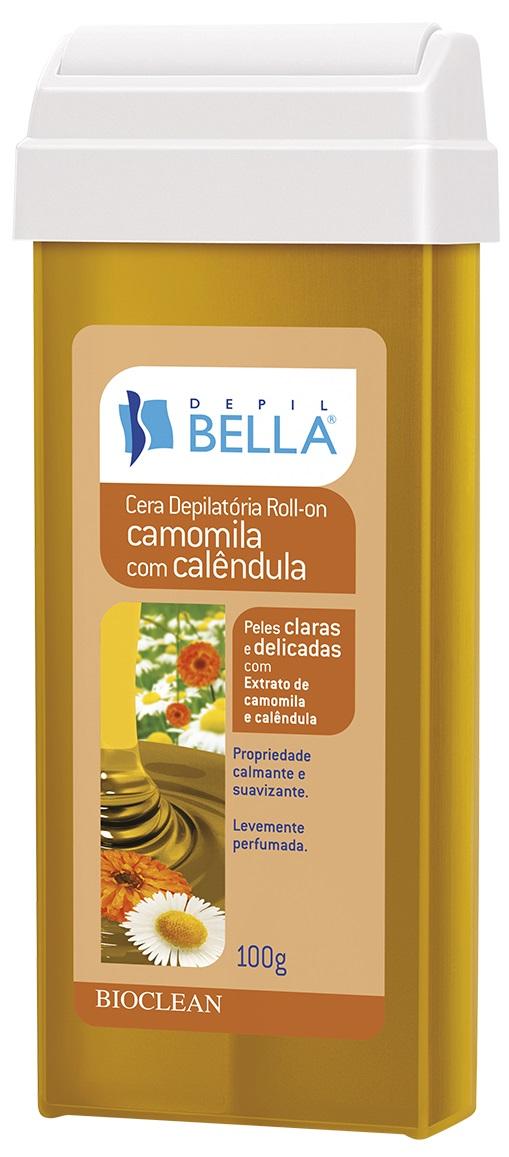 Refil de Cera Roll-on Depil Bella - Camomila e Calêndula