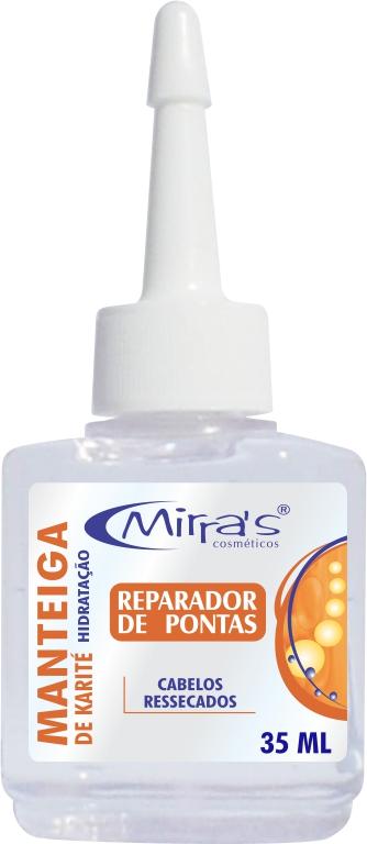 Reparador de Pontas Manteiga De Karité Para Cabelos 35ml - Mirra´s