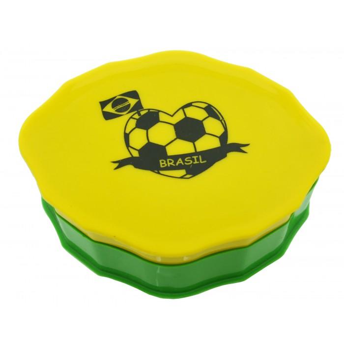 Saboneteira Plástica Brasil Coleção Brasil