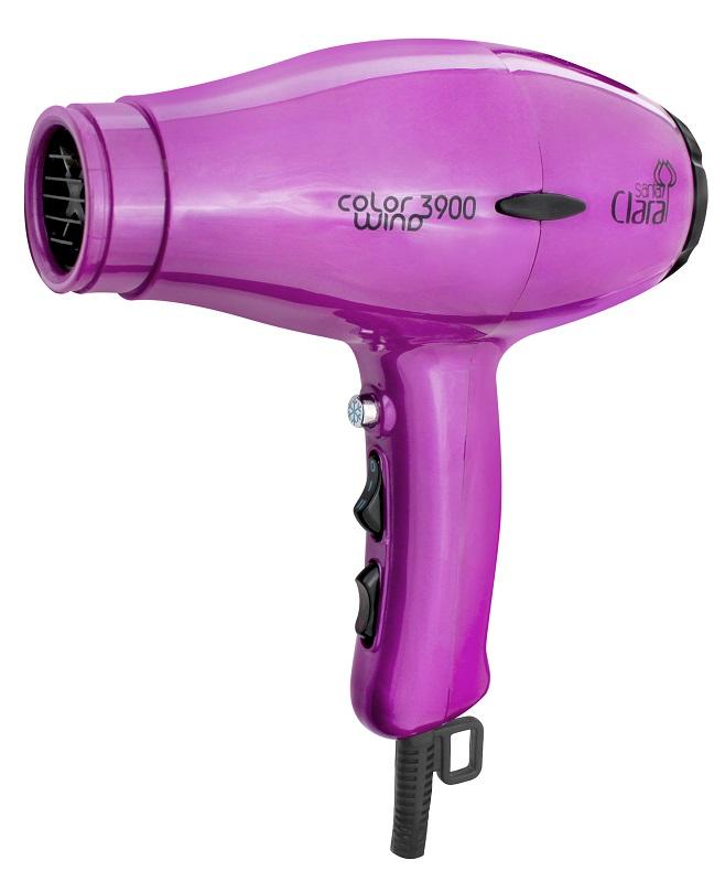 Secador De Cabelos Profissional Color Wind Santa Clara - 2100watts Pink 110v