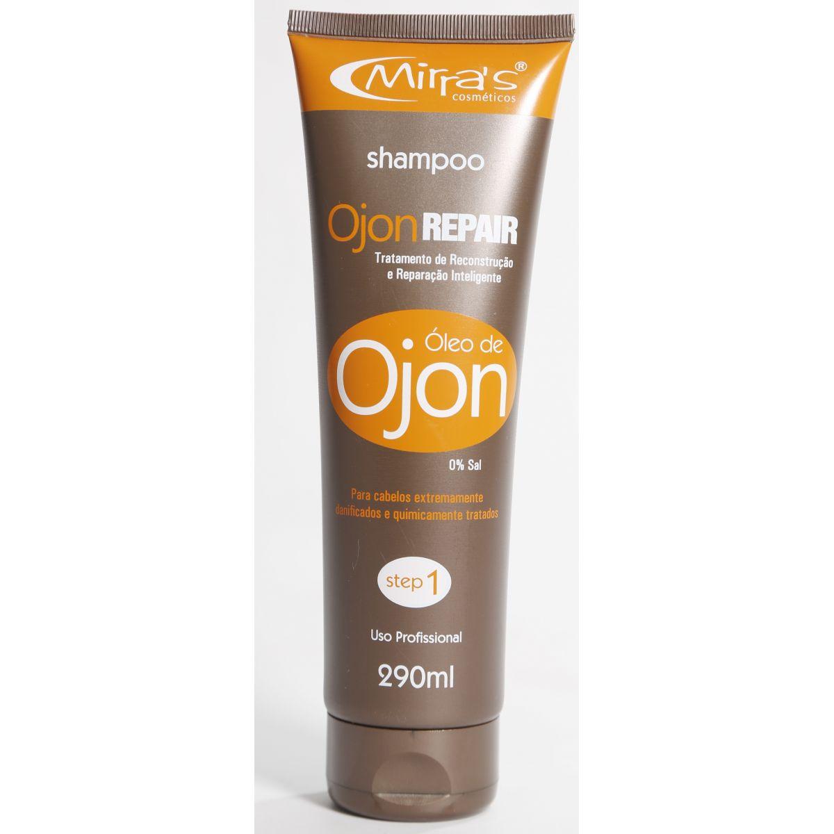 Shampoo Óleo de OjonRepair Sem Sal Cabelos Danificados 290ml
