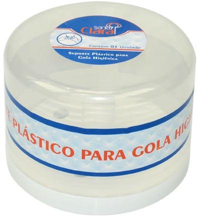 Suporte Plástico Para Gola Higiênica Santa Clara - 01 Unidade