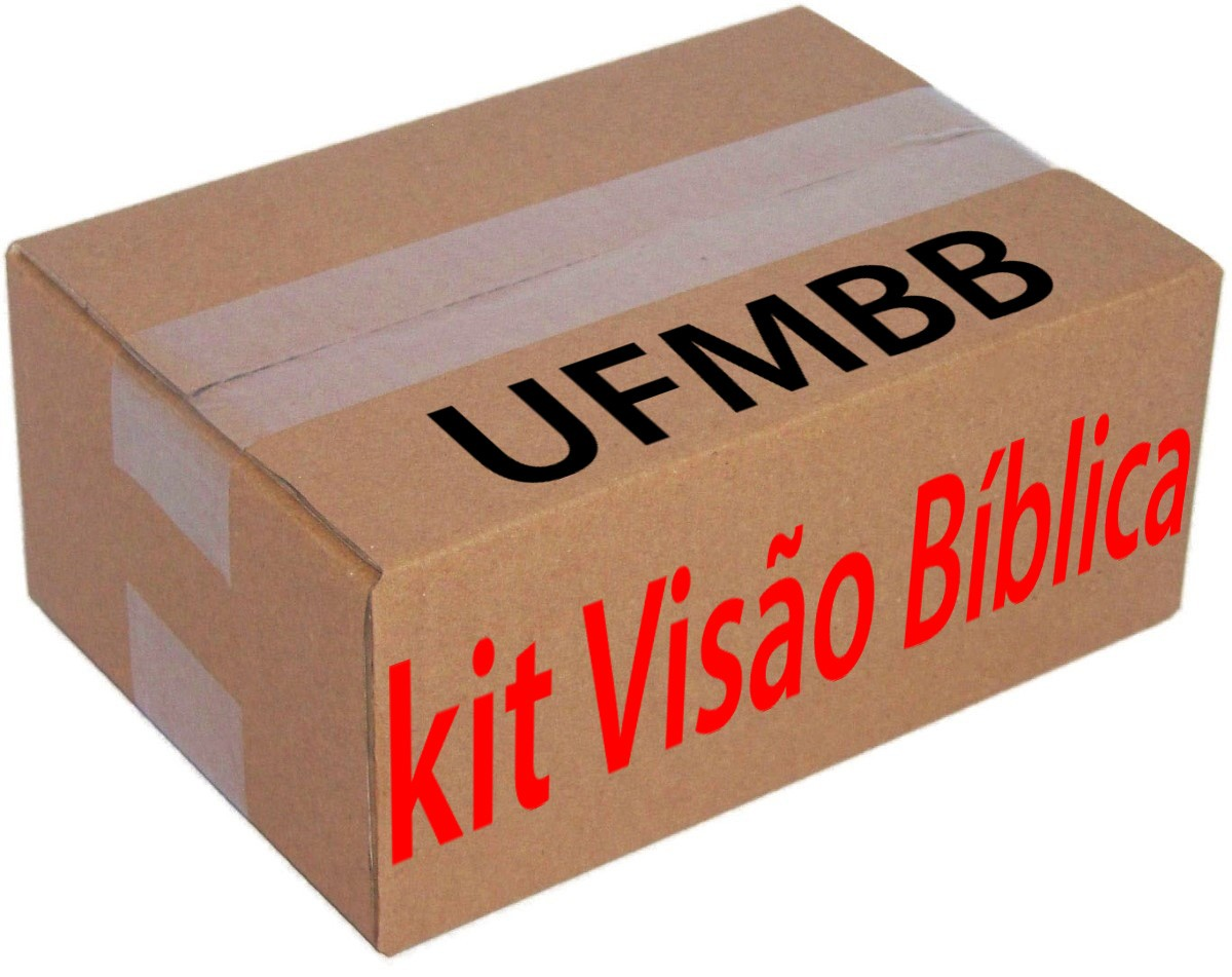 KIT VISÃO BÍBLICA  - LOJA VIRTUAL UFMBB