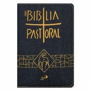 Biblia Sagrada Nova Ed. Pastoral Media Ziper Jeans