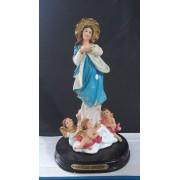 ID394 - Imaculada Conceição 20cm Resina