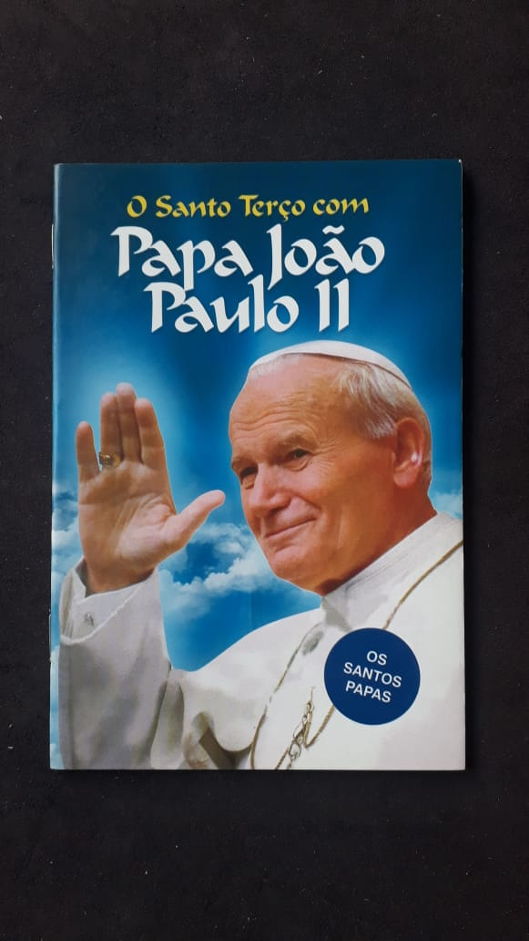 O Santo Terço com Papa João Paulo II  - VindVedShop - Distribuidora Catolica