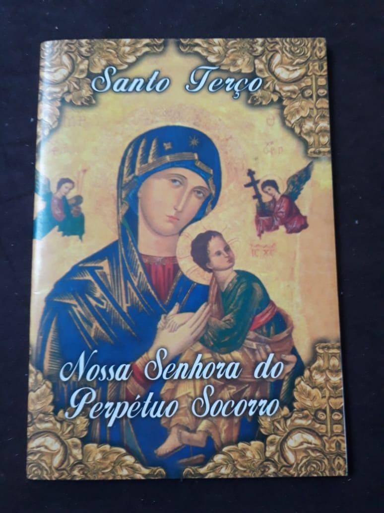 Santo Terço Nossa Senhora do Perpetuo Socorro  - VindVedShop - Distribuidora Catolica