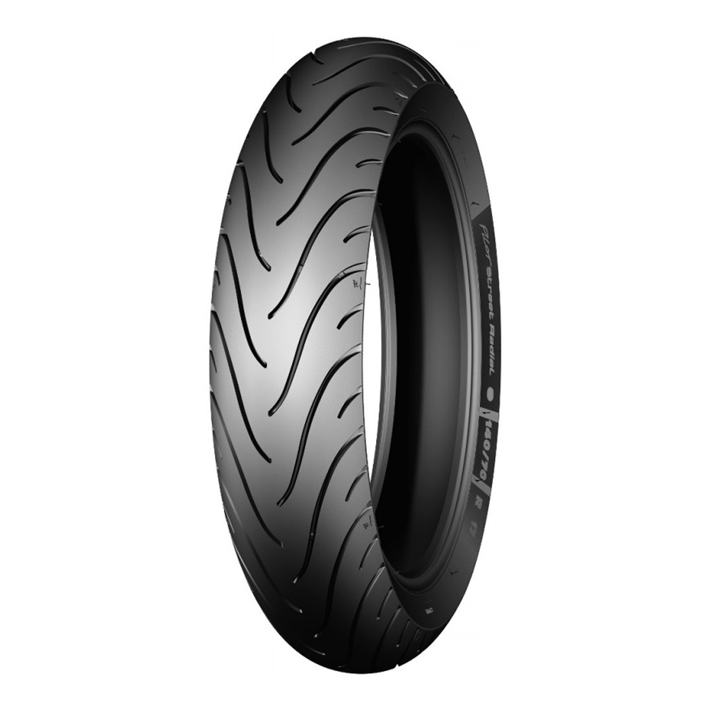 Pneu Michelin 180/55-17 Pilot Street Radial XJ6 / Hornet / Bandit / CBR 1000 RR / YZF R1 / YZF R6