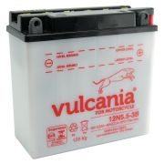 Bateria Vulcania 12N5.5-3B Agrale / RD / RDZ / YBR / RD350