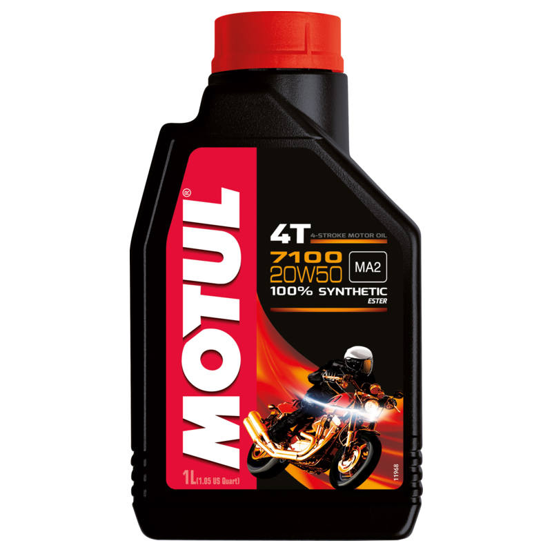 Óleo Motul 7100 20W50 4T 100% Sintético 1 Litro