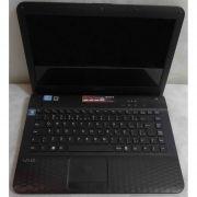 Notebook Sony Vaio PCG-61A11X 14'' Core i3 2.1Ghz 4GB HD-500GB Não enviamos