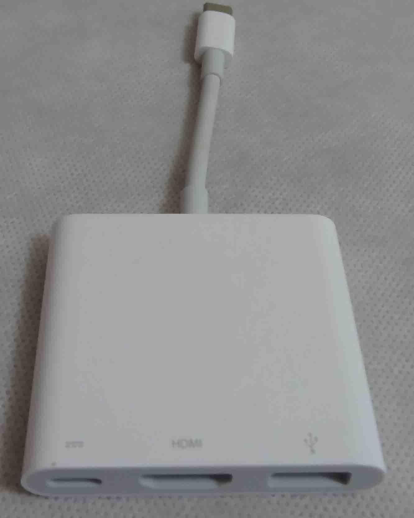 Adaptador Usb-c Digital AV Multiport A1621 MJ1K2AM
