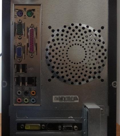 Desktop LG Intel Dual Core 2.5GHz 4GB HD-160GB - Serial DB9