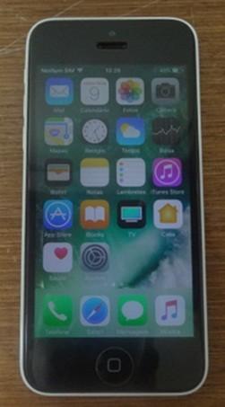 iPhone 5c MG8X2BR/A  8GB 4G 8MP - Branco
