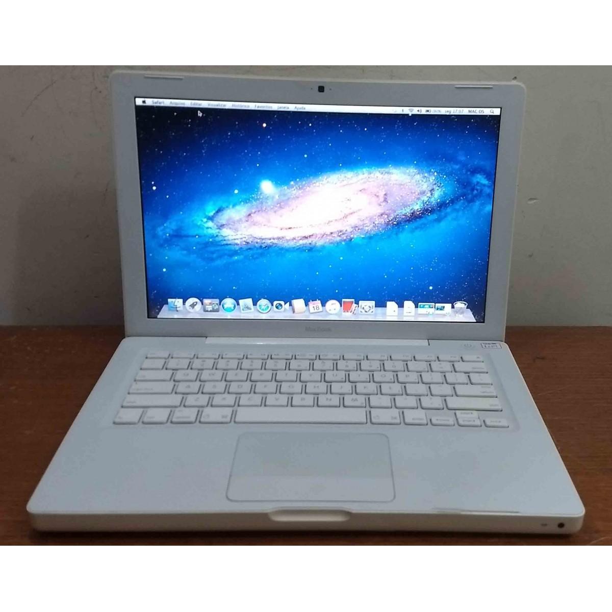 Macbook White MB061LL/A 13.3'' Intel Core 2 Duo 2GHz 4GB HD-250GB