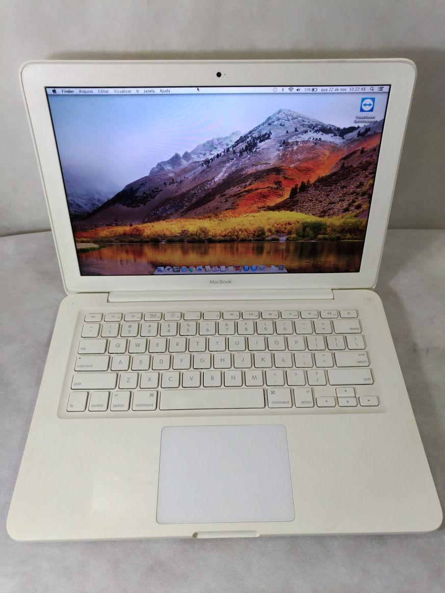 Macbook White MC516BZ/A 13.3 Core 2 Duo 2.4 Ghz 4Gb Hd-250Gb 256Mb-dedicada