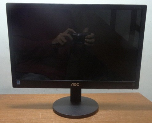Monitor AOC E1670SW LED 15.6 polegadas