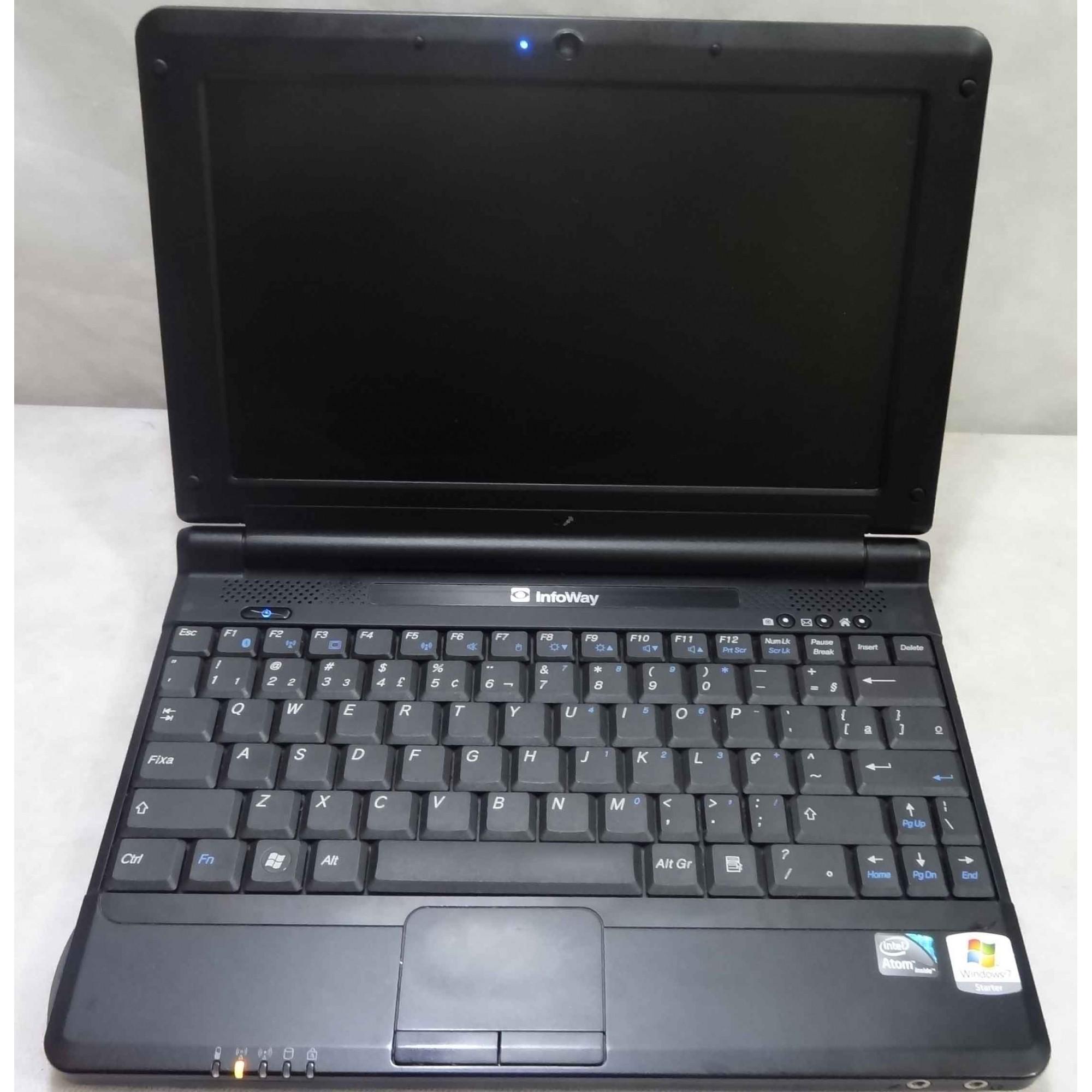 Netbook Infoway W7010 10'' Intel Atom 1.6GHz 2GB HD-120GB