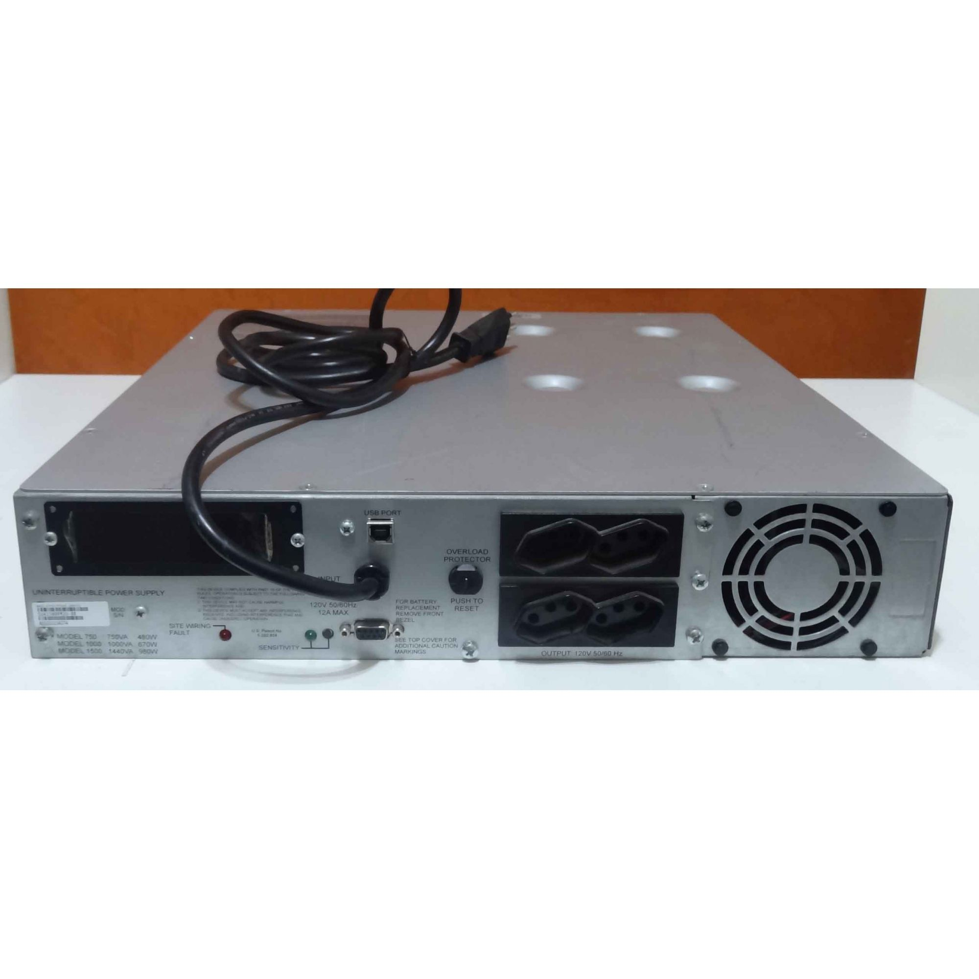 Nobreak Apc Smart-ups 1500va, Rack 2u, 230v