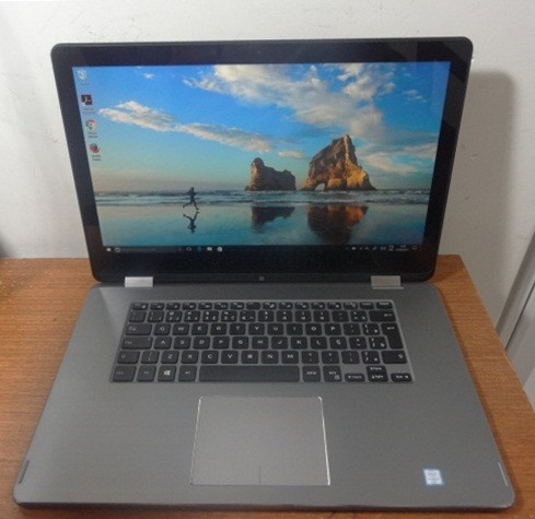 Notebook 2 em 1 Dell Inspiron 15-7568 i7 2.6GHz 8GB HD-1TB + Brinde