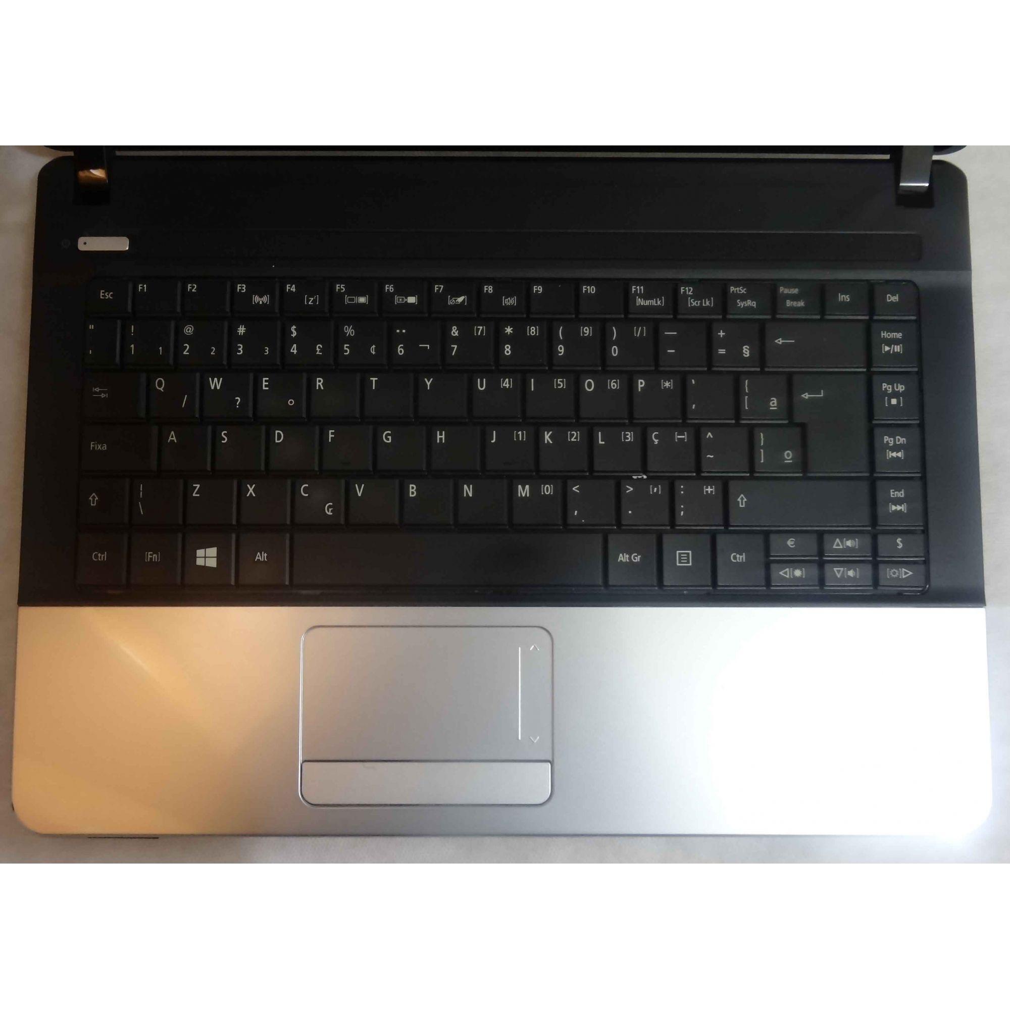 Notebook Acer Aspire E1-421 AMD E-300 1.3GHz 4GB HD-320GB