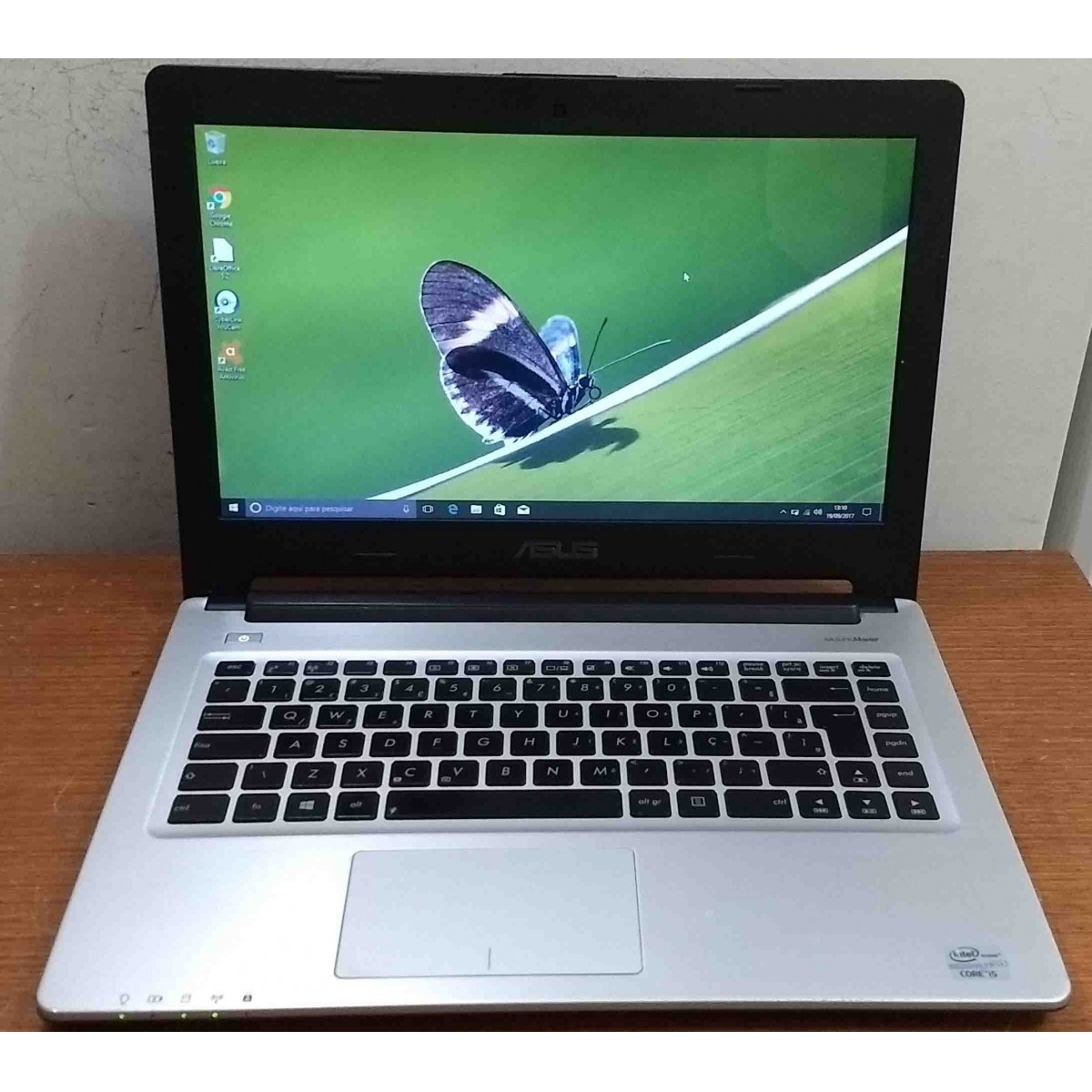 Notebook Asus S46C 14'' Intel Core i5 1.7GHz 4GB HD-500GB