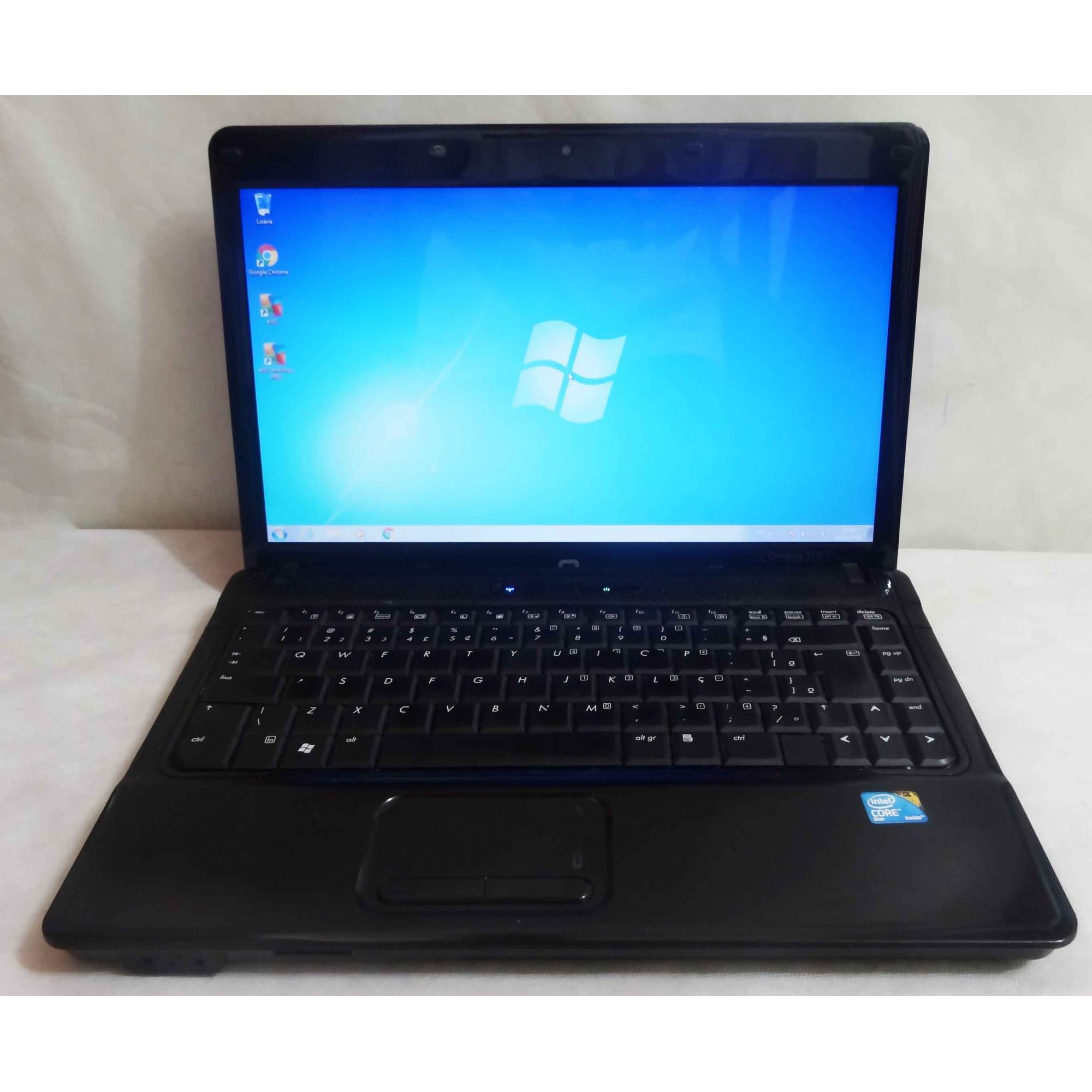 Notebook Compaq 510 14'' Core 2 Duo 2GHz 2GB HD-160GB