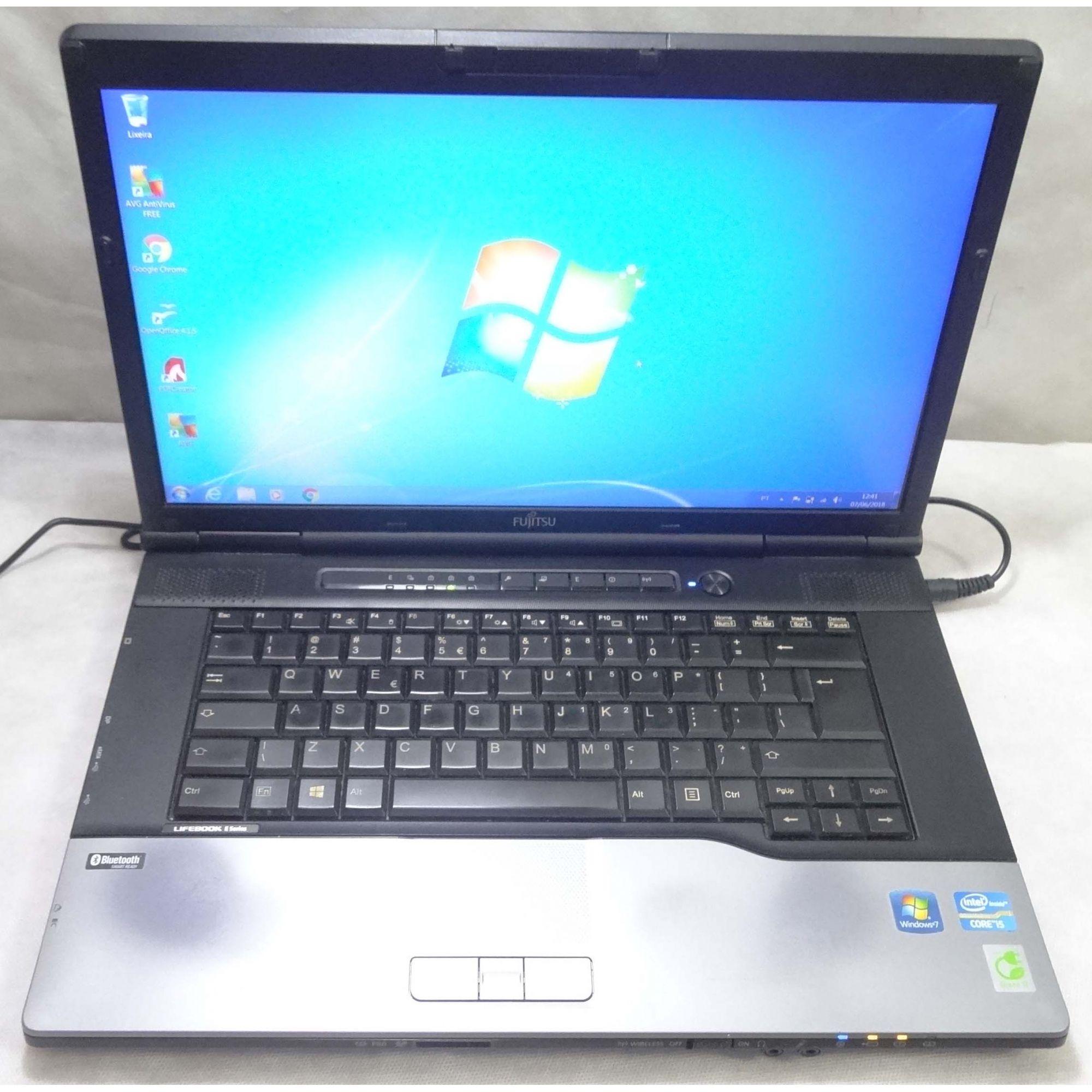 Notebook Fujitsu Lifebook E752 15.6'' i5 2.6GHz 4GB HD-320GB - DB9 (Não Enviamos)