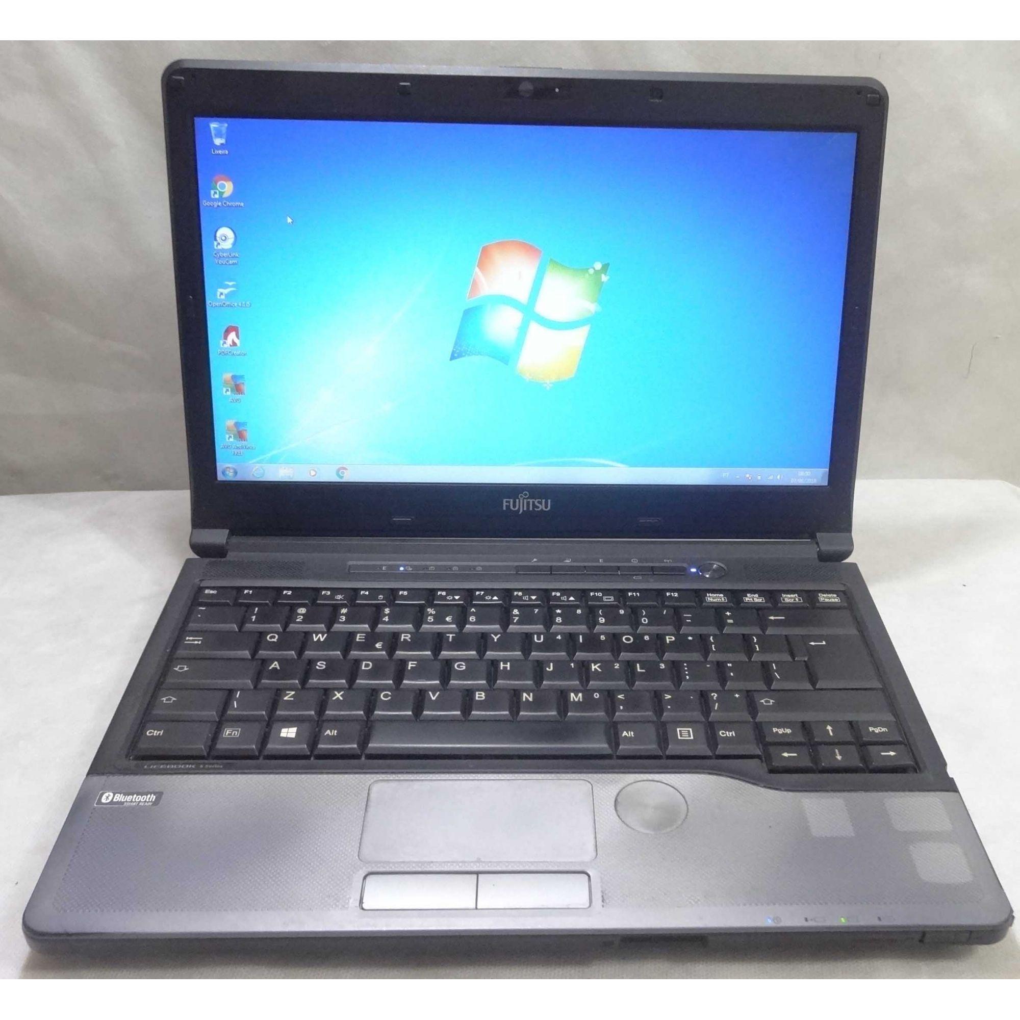 Notebook Fujitsu Lifebook S762 13.3'' Intel Core i5 2.6GHz 4GB HD-320GB Não Enviamos