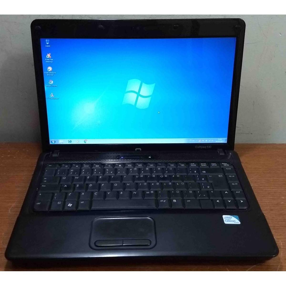 Notebook HP Compaq 510 14'' Intel Celeron 1.86GHz 3GB HD-160GB